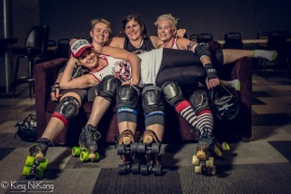 October 2014 Featured League: Chemical Valley Rollergirls
