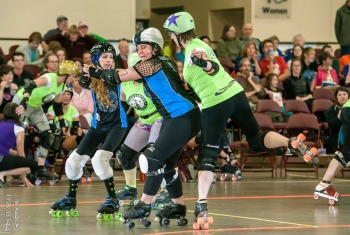 July 2014 WFTDA Featured League: Harbor City Roller Dames
