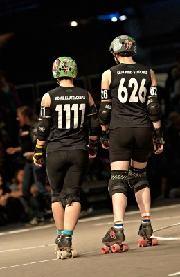 WFTDA Featured Skater: March 2013: Admiral Attackbar