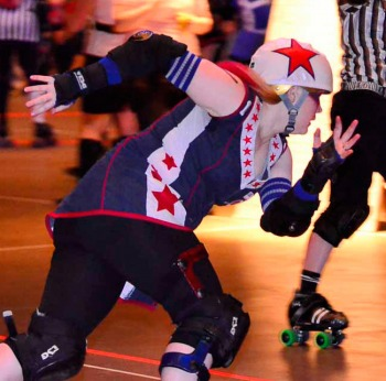 WFTDA Featured Skater: August 2013: Grace Killy