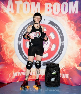 OMG WTF of Gotham Girls Roller Derby - 2014 WFTDA D1 Playoffs Sacramento MVP