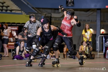 Game 16: Arch Rival Roller Girls (#3) vs Rocky Mountain Rollergirls (#4)