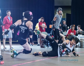 Game 3: Arch Rival Roller Girls (#3) vs Team United Roller Derby (#6)