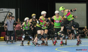 Game 16: Montréal Roller Derby (#4) v Bay Area Derby (#3)