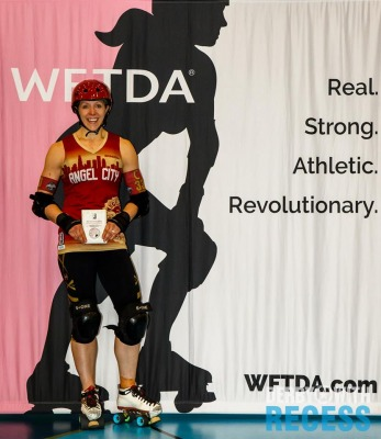 2016 International WFTDA D1 Playoffs Vancouver MVP - Laci Knight
