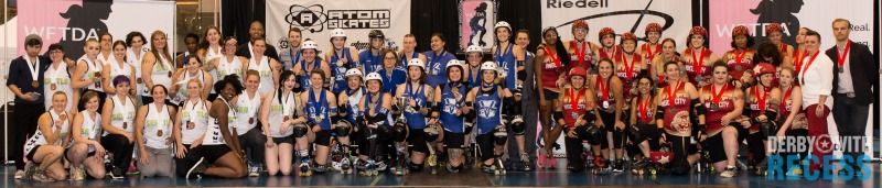 2016 International WFTDA D1 Playoffs in Vancouver Winners