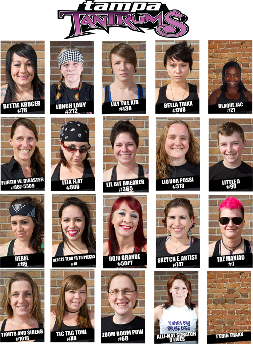 Central Florida Lincoln >> Team Profile: Tampa Roller Derby - Women's Flat Track ...