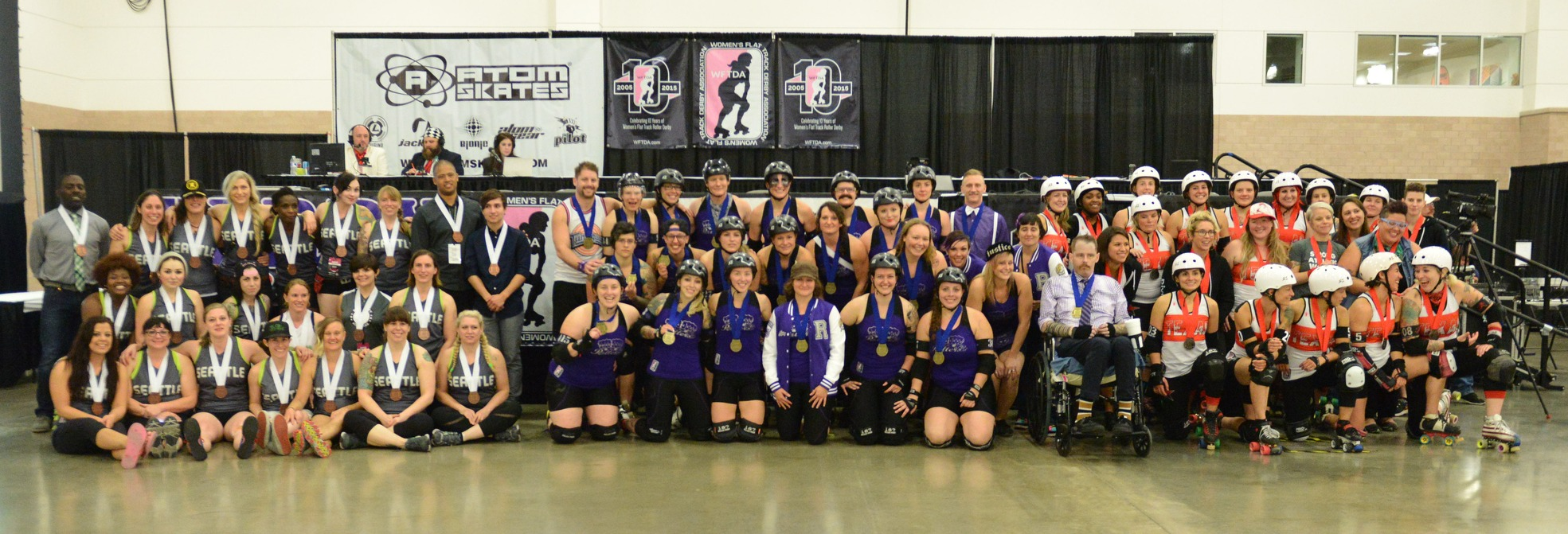 2015 International WFTDA D1 Playoffs: Dallas - Winners